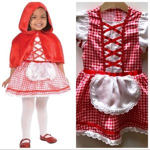 Little Red Riding Hood Dress Costume